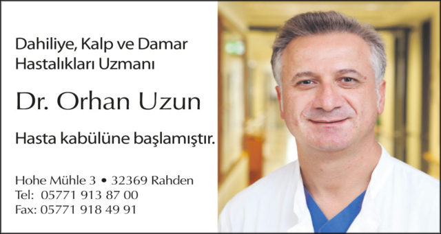 Dr.Orhan Uzun, Orhan Uzun, internist rahden
