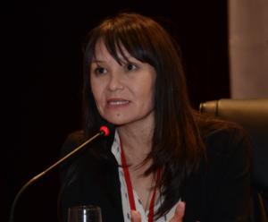 Naziya Bissenova (Kazakistan Türkçe konuşan gazeteciler vakfı başkanı