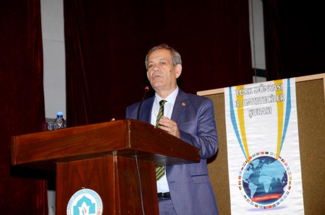 Türkiye Gazeteciler Federasyonu Genel Başkanı Yılmaz Karaca, Türkistan yerel yönetiminin ilgisizliğine sert çıktı..