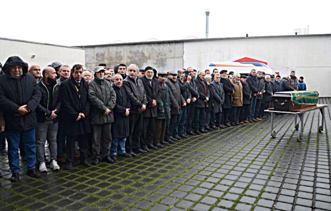 Ali Baş'ın cenazesi