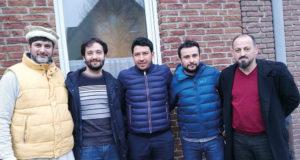 Cemil Şahinöz (soldan 2.)