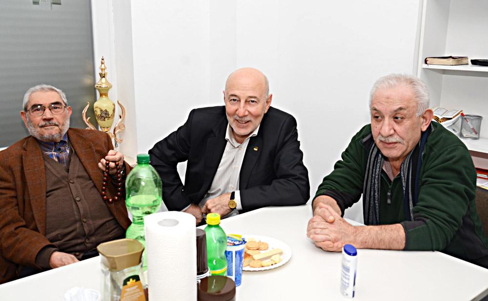 SunExpress Ticaret Direktörü Peter Glade ve SunExpress Almanya Genel Müdür Yardımcısı Alper Özen