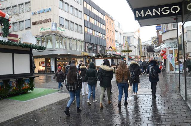 Bielefeld şehir merkezi