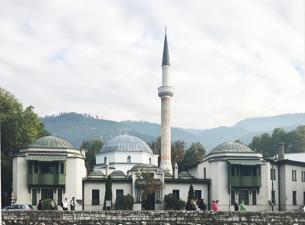 1457 senesinde yapılan Hünkar Cami - Saray Bosna