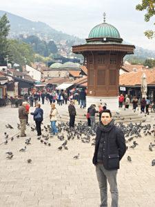 Saray Bosna Başçarşı Sebili - Yasin Baş