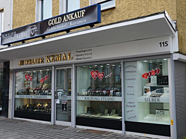 Kuyumcu Kemal'in Brackwede'deki taşındığı yeni yer