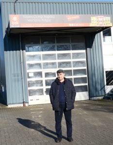 Yavuz Kızılkan, İpek Bulgur GmbH şirketinin deposu.
