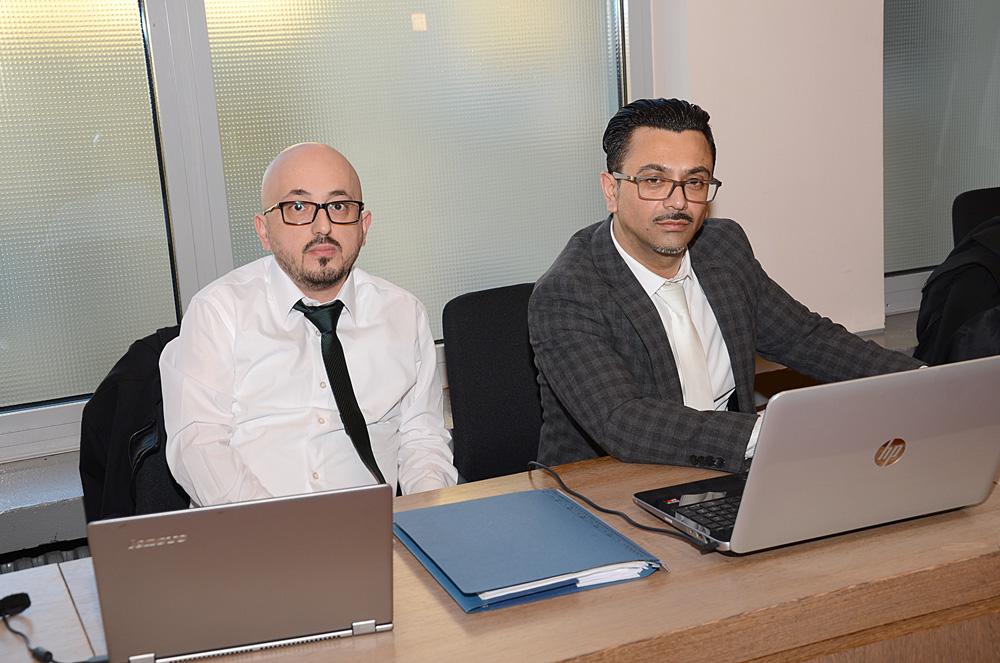 Avukat Murat Başpınar ve Remzi Yalçın