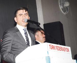 Türk Federasyon G.Başkanı Şentürk Doğruyol