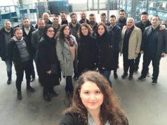 Bielefeld Yardımlaşma Derneği kurucuları bir arada..