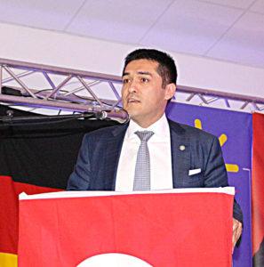 İyi Parti genel başkan yardımcısı Buğra Kavuncu