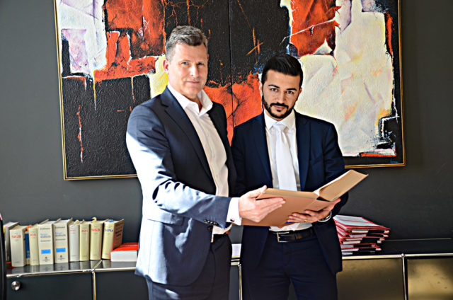 Ünlü avukat Binder ile Ali Şenol