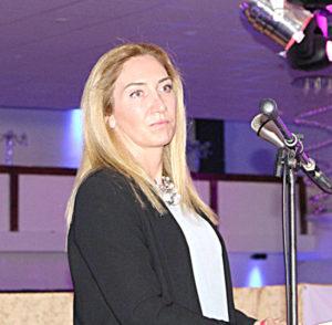 İyi Parti Avrupa sorumlusu Fulya Yasemin.