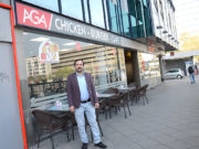 AGA Chicken-Burger-Cafe açıldı.