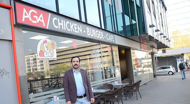 AGA Chicken-Burger-Cafe açıldı.