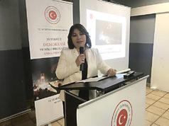 T.C. Münster Başkonsolosu Pınar Gülün Kayseri.