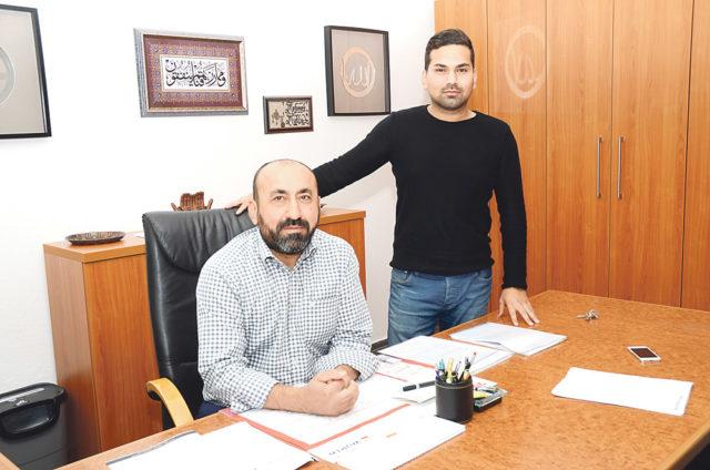 Mehmet ve Muhammet Mutlu Adnan Öztürk'ün objektifinde..