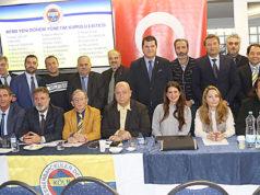Fenerbahçe Köln Derneği yönetim Kurulu üyeleri toplu halde.