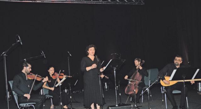 Soldan sağa: David Filipe,Yanyan Kong, Marina Eichberg, Pavel Efremov, Marko Simic, Cumhur Topak ve Dr. Hatice Zeynalova (okuyan).