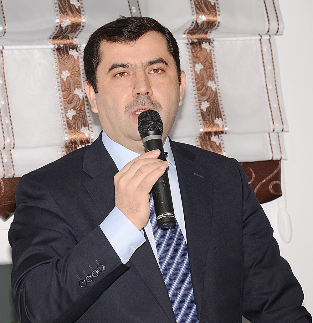 Yeni genel başkan Kazım Türkmen