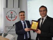 Doç. Dr. Mehmet Fikret Arargüç ve Mustafa Toni Aksu