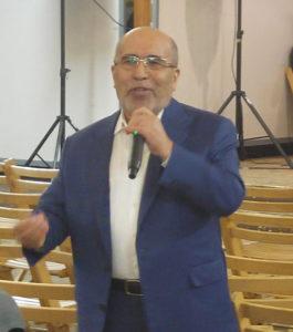 Mehmet Paksu konferans verdi.