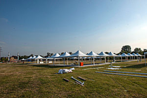 Çadırlar hazır!
