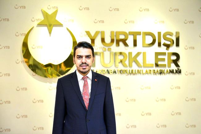 Yurtdışı Türkler ve Akraba Topluluklar (YTB) Başkanı Abdullah Eren.
