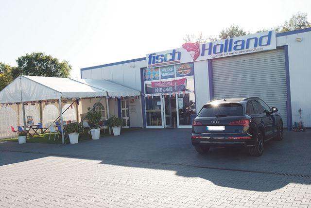 Fisch Holland'ın imalathanesi.