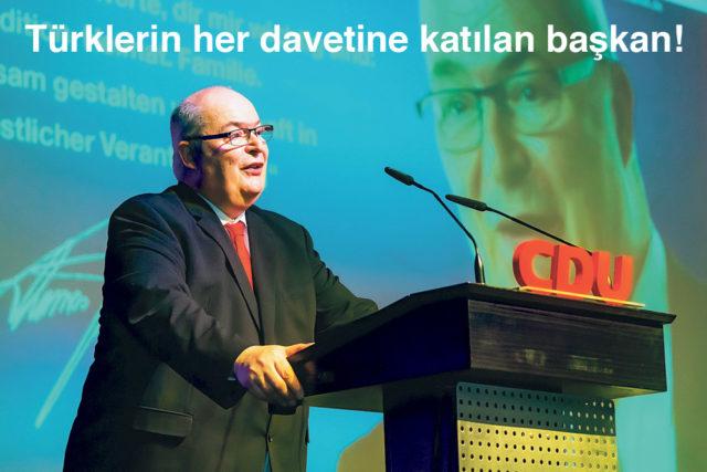 Hamm Belediye başkanı Thomas Hunsteger Petermann tekrar aday olacağını açıkladı.