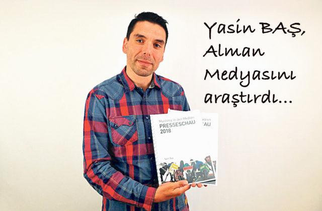 Öztürk yazarı Yasin Baş.