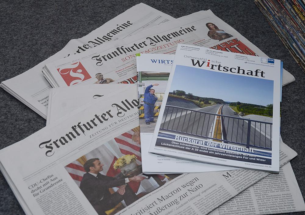 Almanya basınından örnekler.