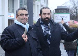 Bilal Yaşar ve İdris Seçkin ikilisi protesto yürüyüşünün her anını canlı yayın yaparak kamuoyu ile paylaştılar.