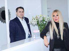 Dr. Bülent Duman ile Filiz Eskau.