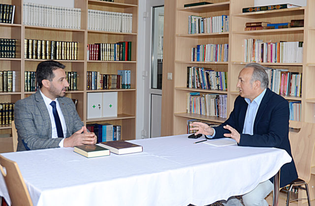 Ahmet Hamdi İnalpulat ve Adnan Öztürk, Fotoğraf: Fatma Öztürk