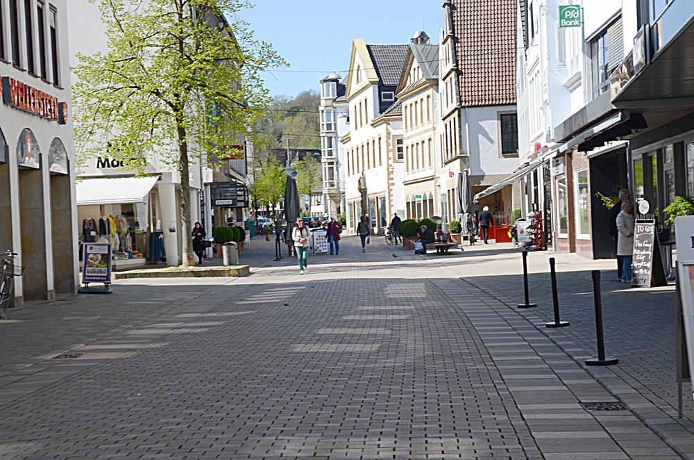 Bielefeld Altstadt çıkışı