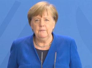 Federal Almanya şansölyesi Angela Merkel. (Fotoğraf: Ekran görüntüsü)